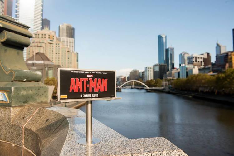 Ant Man 2's Tiny Billboards