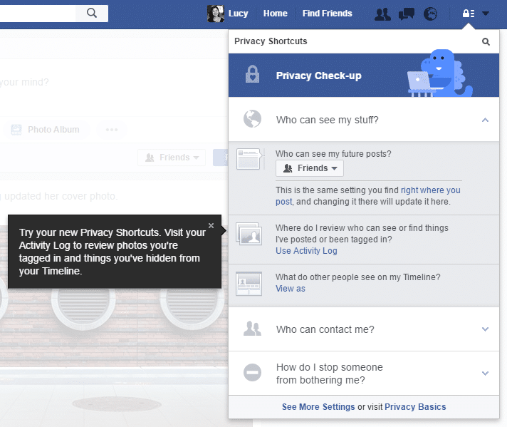 protecting your privacy on facebook