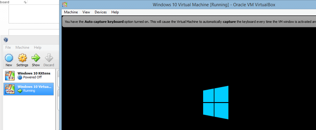 run Windows 10 on Virtual Machine