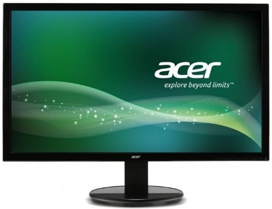 Acer 21.5-inch widescreen LED display (Used) Image