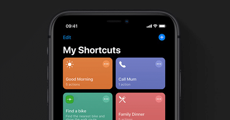 IOS 13 Shortcuts App